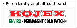 Eco-friendly asphalt permanent cold patch